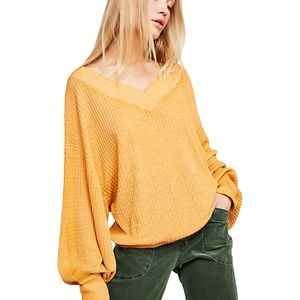 Free People Southside Thermal Sweater